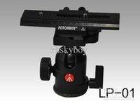 Wholesale Fotomate LP way Macro Focus Rail Slider Tripod Plate macro turning long tripod head camera