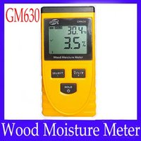 Wholesale Wood moisture meter GM630 measure range MOQ