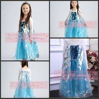 Cheap TuTu frozen elsa Best Spring / Autumn A-Line girls dress