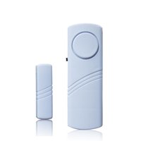 Wholesale Windows doors alertor sensory security detectors small size light weight at home at room at office burglar alarm