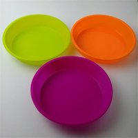 Wholesale Silicone Mould Baking Pan Cake Mold Pan Muffin Chocolate Pizza Baking Tray quot