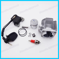 Wholesale L7T Spark Plug Ignition Coil mm Cylinder Piston Kit Mini cc cc Go Kart Motorcycle Quad ATV Pocket Dirt Bike order lt no track
