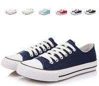 Wholesale Factory Price Femininas Canvas Shoes Women And Men Low Cut Style Classic Canvas Shoes Sneakers Canvas Sport Shoes