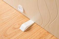 Wholesale Decorative Door Stopper Pack With Free Bonus Holders Door Stop Works on All Floor Surfaces Premium Rubber Door Stops white