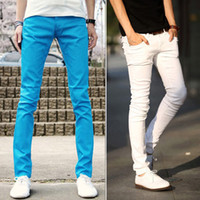 Wholesale New Fashion Plus Size Men Pantalones Pants Cotton Jogger Pants Men s Trousers M XXL Slim Pencil Trousers colors