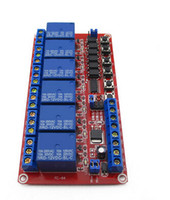 Wholesale channel V latching relay module controls the high voltage high current excellent