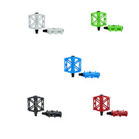 Wholesale BaseCamp Ultra light Aluminum MTB Bicycle Pedal Road Bike Cycling Pedals Slip resistant Ball Bearing White Blue black Green Red