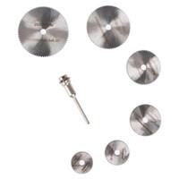 Wholesale HSS Rotary Tool Circular Saw Blades Cutting Discs Mandrel For Dremel Cutoff Size