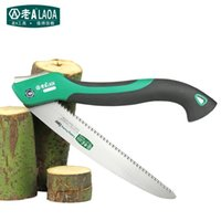 Wholesale LAOA Inch Camping Foldable Saw Garden Outdoor Folding Portable Hand Saw Gardening Pruning Saw Tree trimmers Gardening Tool