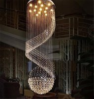 halogen light - New Modern K9 Clear Crystal Ceiling Light Pendant Lamp Chandelier Light Indoor Lighting LED Ceiling Light Living Room Corridor Chandeliers