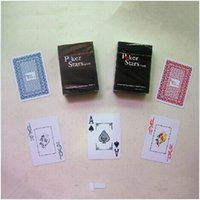 Wholesale 63 mm Washable poker card Big size PVC plastic playing card