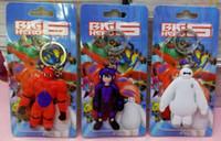 Wholesale Big Hero pendant key ring hanging buckleComic and Animation DHL