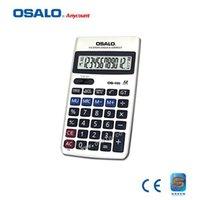 dual calculator - OS Check Correct Plastic Keys Calculator Accountant Dual Power Batter Than casio Classical Economic Calculadora Teacher Gift