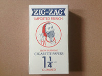 smoking paper - One box of ZIG ZAG orange cigarette rolling papers with watermarks mm ZIG ZAG smoking rolling paper booklets
