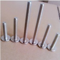 Wholesale For Carbon composite tank at th flathead machine screws nickel plated M6