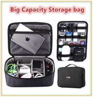 adapt tool brands - Brand Digital Accessories Storage Bag Big Capacity Handbag Cable Organizer Case Drive Disk USB Charger Adapt Mouse Power Bank