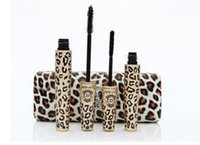Wholesale 2014 Love Alpha Mascara Makeup Waterproof Mascara With Leopard Case Fiber Lash Mascara