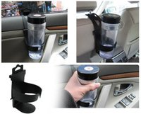 Wholesale NEW Protable Design Car water cup drink black holder shelf Auto cup beverage holder supplies