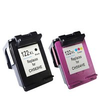 Wholesale 2pcs compatible ink cartridge for HP122 xl Black Tri color Refilled Ink Cartridge CB563HE CB564HE for HP122xl