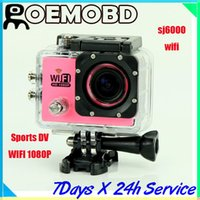 Porsche action camera - Original SJ6000 Sport DV action camera Camera car dvr support wifi function SJ4000 updates