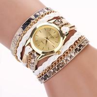 Wholesale Hot sell Leopard grain woven new fashion design new arrive women luxury brand quartz wristwatch women dress watches XR621