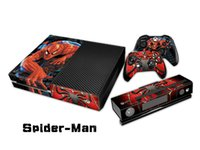 Spider Man Decal Skin / Stickers Para Xbox 360 Console + 2 Controllers + Kinect Skin
