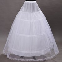 hoop skirts - Stretchable US2 W Plus Size Bridal Crinoline Petticoat Skirt Hoop Petticoats For Ball Gowns Wedding Accessories Slip