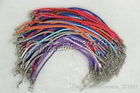 american cord - Jewelry Mixed color Twist Leather Cord Bracelets quot FREE inch