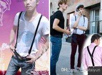 Wholesale Multicolor High quality Clip on Adjustable Braces Candy Suspender Unisex Pants Y back elastic Suspender Braces cm WY25