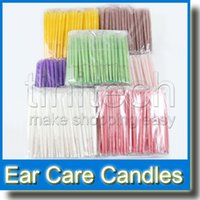 Wholesale Ear Candle Aromatherapy Therapy Medical Natural Beewax Ear Care with Earplug