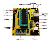 avr microcontroller tutorial - ZK AVR microcontroller minimum system board USB download programs development board tutorial C7A3 module