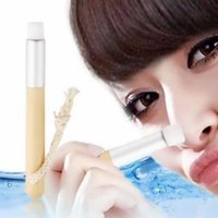 Wholesale Deep cleaning Blackhead Nose Washing Brush Pores Clean Brush Wooden Handle Cleanser Small Nose
