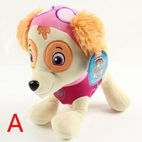stuffed animals - 2015 inch cm PAW Patrol Plush Dog Doll Soft Stuffed Animals Toys Ryder Marshall Rubble Chase Rocky Zuma Skye Toy for kids BHUJ98