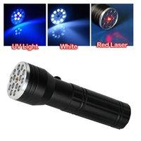 Cheap Multi Function Torch Flash Light Best <100lm LED Flashlight Laser