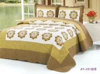 Wholesale Queen Twin cotton Patchwork quilted coverlet bedspread cm Over colors