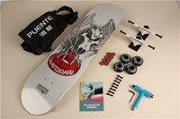 bearings hardware - By DHL Set Complete Skateboard Skate Deck Trucks Wheels amp Bearings Plus Riser Pad Hardware Set amp Installing Tool
