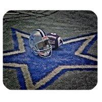 al por mayor print mouse pad-impresa por mayor-Dallas Cowboys personalizado antideslizante ratón / cojín de ratones de Confort muñeca alfombrilla de ratón rectángulo de encargo Mousepad