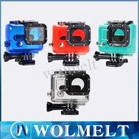 Wholesale High quality underwater Waterproof Housing Case for Gopro HD Hero Diving Camera Camcorder Helmet Factory Price