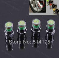 Wholesale 5 sets x Bar Indicator Tire Valve Stem Caps General Used Stem Cap Car Auto Pressure Monitor Valve sets order lt no track