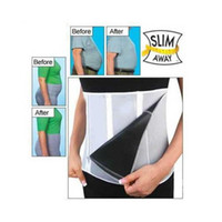 belt man lift - Slim Away Slim Lift Slim Belt with Zippers Keep Fit Health for Men and Women New Weight Loss Belt Body Waist Shaper Cinchers Belly Con