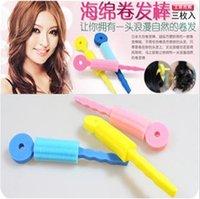 aqua curl - Min order is can mix style hair sticks sleeping beauty sponge curls magic sponge hair roller hair accessory