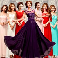 Wholesale Elie Saab Red Carpet Celebrity Evening Dresses Prom Formal Dresses Gowns O Neck Beaded Dress Chiffon Party Custom Made Plus Size