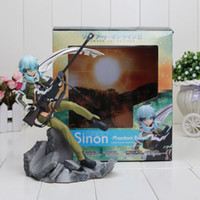age games online - Hot Game Anime GGO Asada Shino Sinon Sniper Rifle Sword Art Online Series Phantom Bullet quot Figure Toys New Box