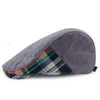 advance hats - Plaid Tartan Newsboy Beret Cap Hat New Ivy Caps Fashion Advance Hats for Men Women