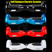 Atomizer electric motors - Top quality Self balancing electric Scooter Two wheel Unicycle Balance Drift Board Mini Smart Motor Skateboard With LED Lamp FEDEX free ship