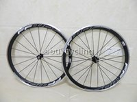Wholesale Matte FFWD f4r carbon fiber road bike wheels carbon wheels c mm carbon bicycle wheelset front H rear H bike wheel with Novatec A271