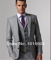 Wholesale The new quality is good and cheap price for the wedding suit jacket pants Vest tie
