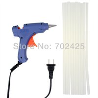 Wholesale Best V New W Heating Hot Melt Glue Gun and Glue Sticks For Art Craft Album Repair Tool east