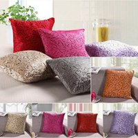 Wholesale Sofa Home Bed Decor Throw Pillow Cases Decorative Cushion Cover Square