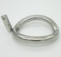 Wholesale NEW Super Small Stainless Steel Male Chastity Device Cock Cages Additional Ring Cock Ring Size Choose Adult Sex BDSM Toys